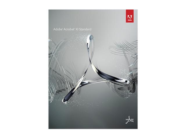 Adobe Acrobat XI Standard for Windows - Full Version Software - Newegg.com