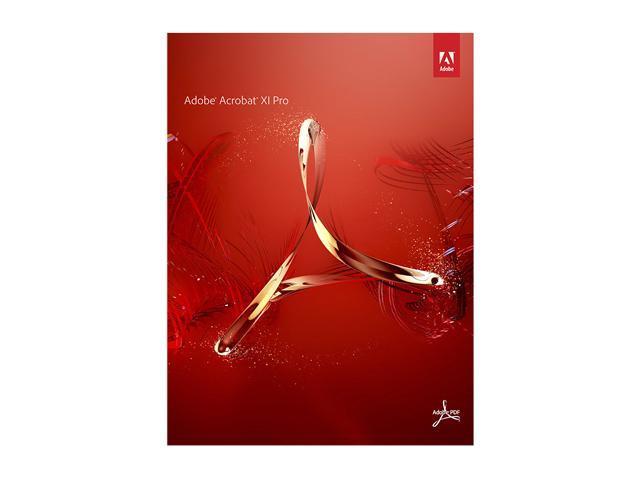 Adobe Acrobat XI Professional for Mac - Full Version
