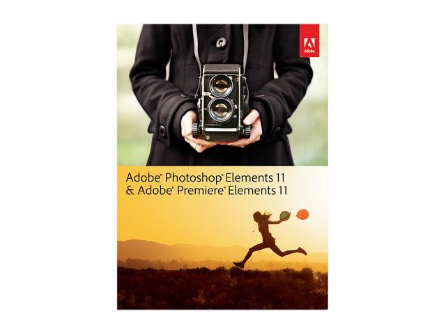 Adobe Photoshop & Premiere Elements 11 for Windows & Mac - Full Bundle Version