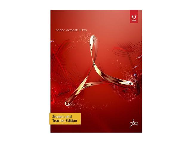 Adobe Acrobat XI Professional for Windows - Student & Teacher Edition