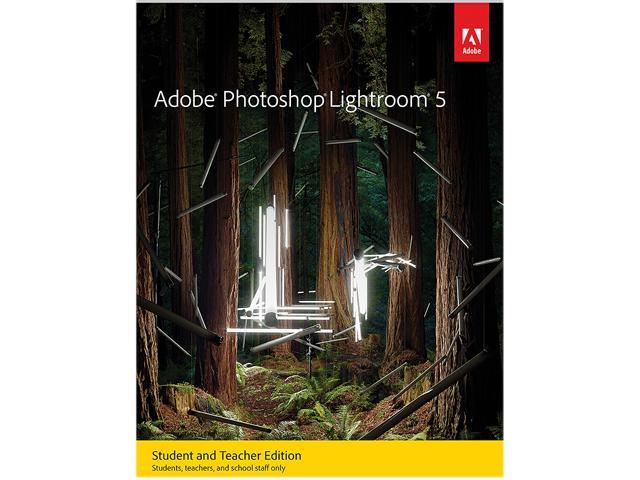 Adobe Photoshop Lightroom 5 for Windows & Mac - Student & Teacher Edition