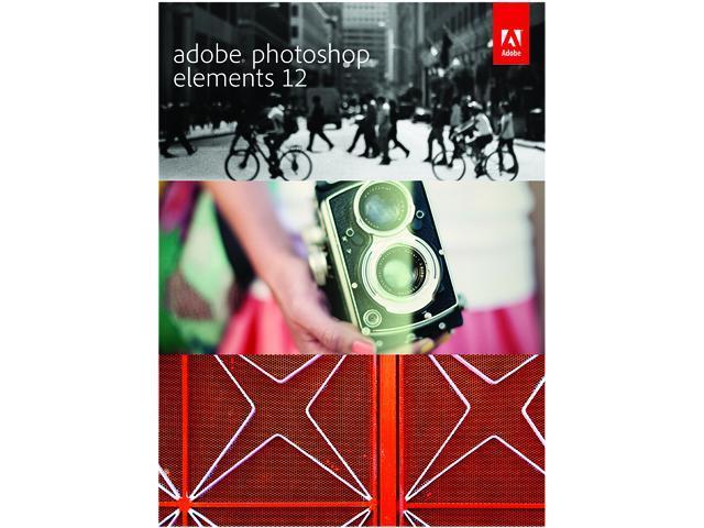 Adobe Photoshop Elements 12 for Windows & Mac - Full Version