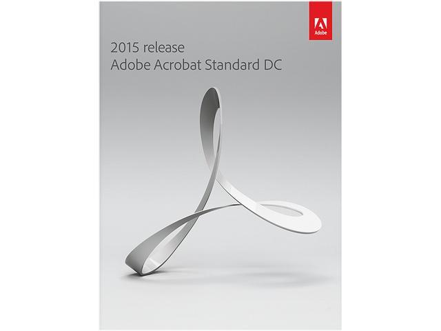 Adobe Acrobat Standard DC 2015 for Windows