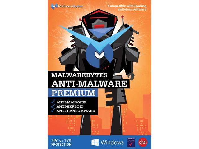 Malwarebytes Anti-Malware Premium 1 YR/3 PC - Download