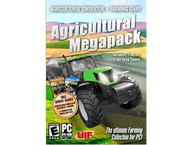 Agricultural Megapack with Bonus Woodcutter Simulator Game! PC Game