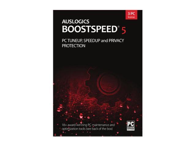 Auslogics BoostSpeed 5 - 3 PCs