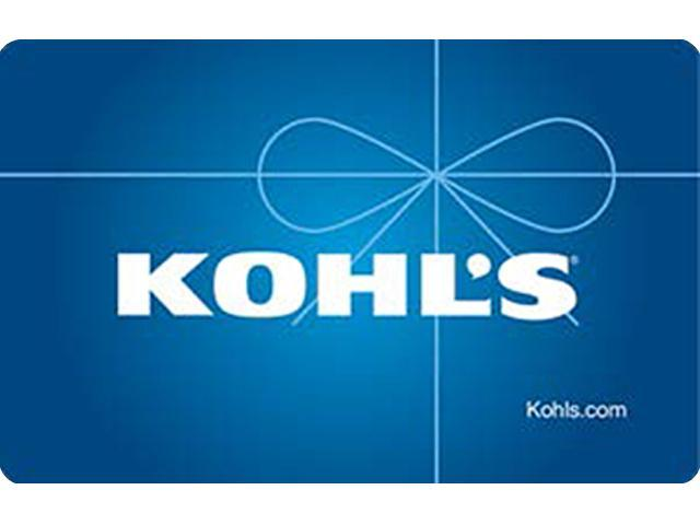 Kohl's $25 Gift Cards (Email Delivery)