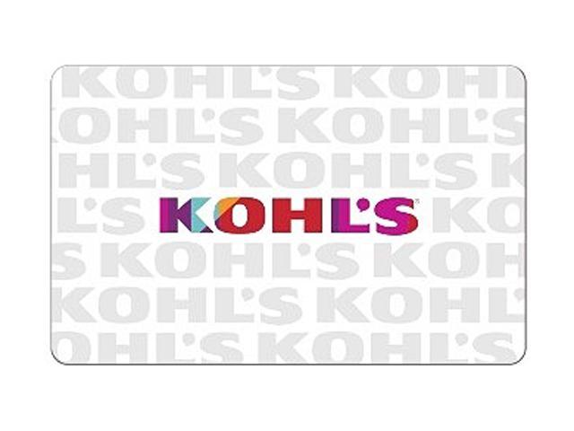 Kohl's $100 Gift Cards (Email Delivery) - Newegg.com