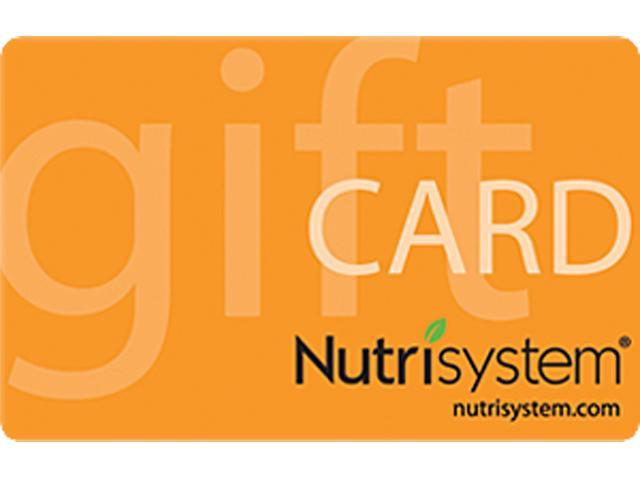 Nutrisystem $100 eGift Card at Costco for $54.99 - Online Members Only