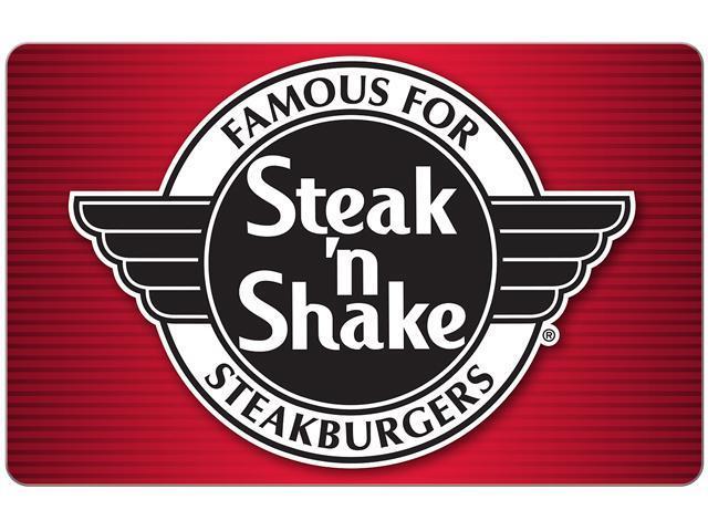 Steak'n Shake $25 Gift Card (Email Delivery) - Newegg.com