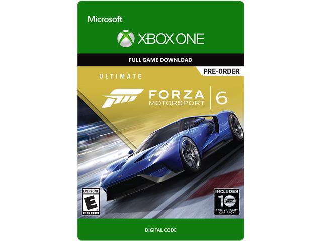 forza motorsport 6 ultimate edition xbox one digital code. Black Bedroom Furniture Sets. Home Design Ideas