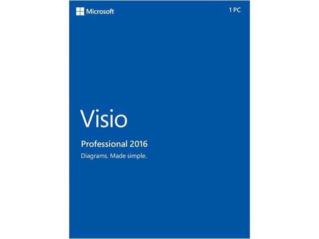 microsoft visio pro 2016 product key card 1 pc - Visio 30 Day Trial