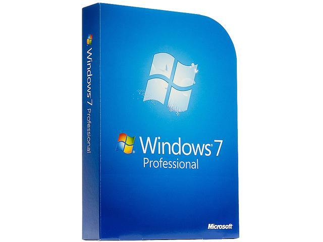 Microsoft Windows 7 Professional SP1 64-bit