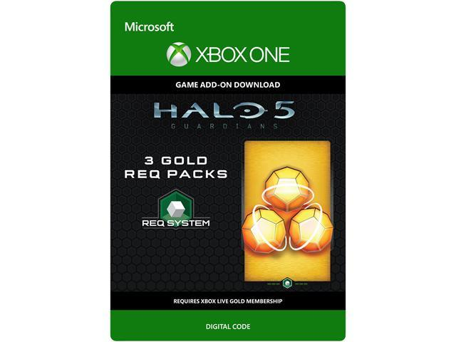 Halo 5: Guardians: 3 Gold REQ Packs XBOX One [Digital Code]
