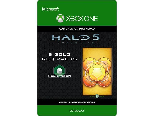 Halo 5: Guardians: 5 Gold REQ Packs XBOX One [Digital Code]