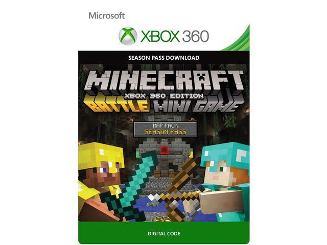 Minecraft: Battle Map Pack Season Pass XBOX 360 [Digital Code]