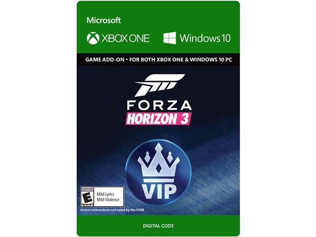 forza horizon 3 vip xbox one windows 10 digital code. Black Bedroom Furniture Sets. Home Design Ideas