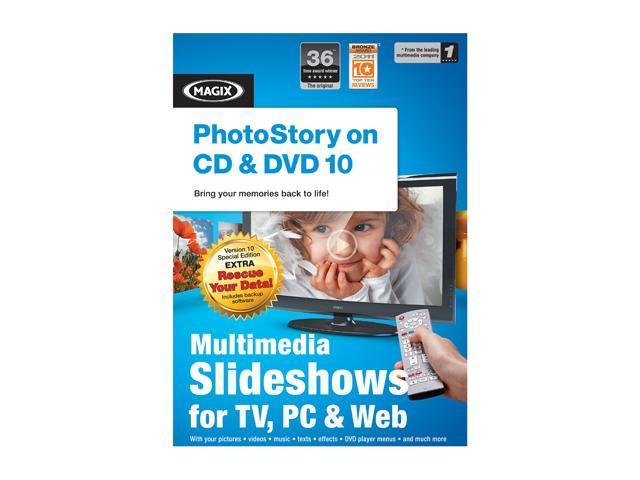 MAGIX PHOTOSTORY ON CD & DVD 10