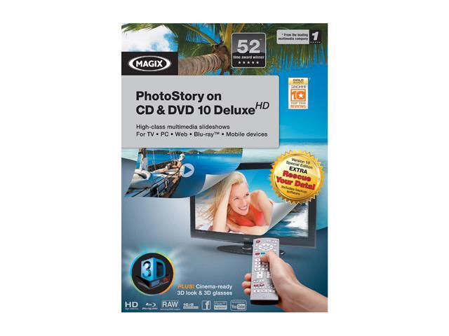 MAGIX PHOTOSTORY ON CD & DVD 10 DELUXE
