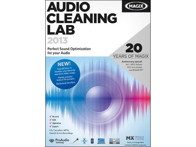 MAGIX Audio Cleaning Lab 2013 - Download