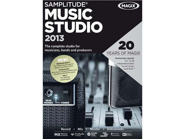 MAGIX Samplitude Music Studio 2013 - Download