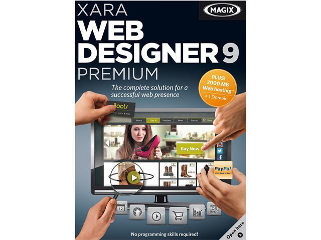 Xara Web Designer 9 Premium - Download