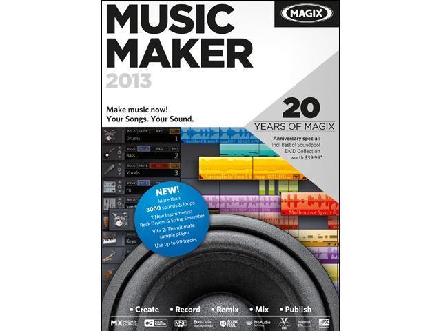 MAGIX Music Maker 2013 - Download
