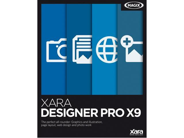 MAGIX Xara Designer Pro X9 - Download