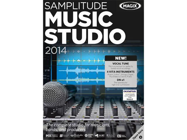 MAGIX Samplitude Music Studio 2014 - Download