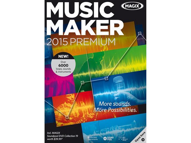 MAGIX Music Maker 2015 Premium - Download
