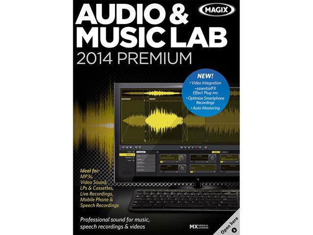 MAGIX Audio & Music Lab 2014 Premium - Download