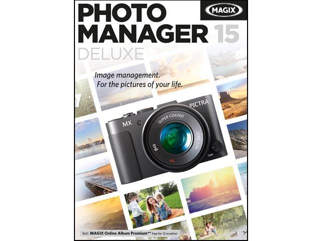MAGIX Photo Manager 15 Deluxe - Download