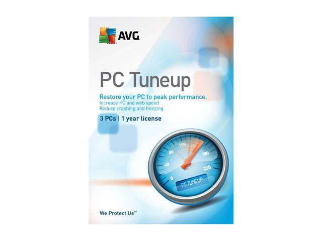 AVG PC TuneUp – 3 PCs