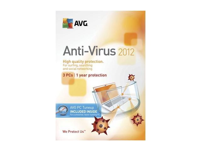 AVG Anti-Virus + PC TuneUp 2012 - 3 PCs