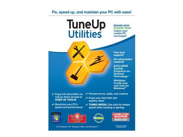 TuneUp Tuneup Utilties 1 PC - OEM