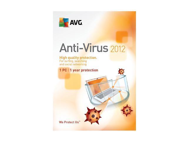 AVG Antivirus 2012 - 1 User