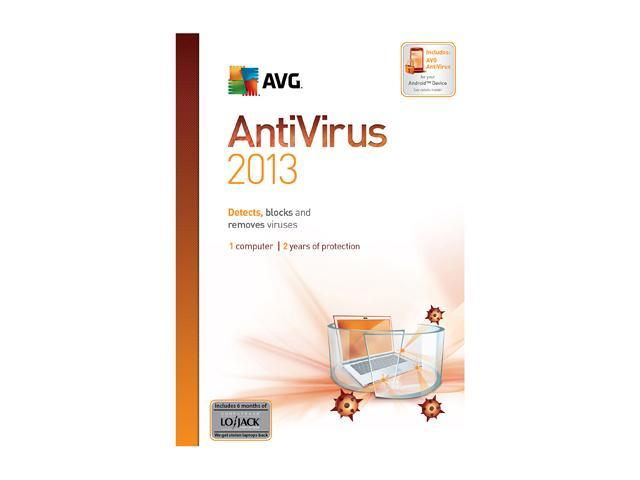 AVG Anti-Virus 2013 1 PC (2-Year) - Download