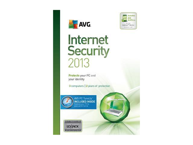AVG Internet Security + PC TuneUp 2013 - 3 User (2 Year) - Download