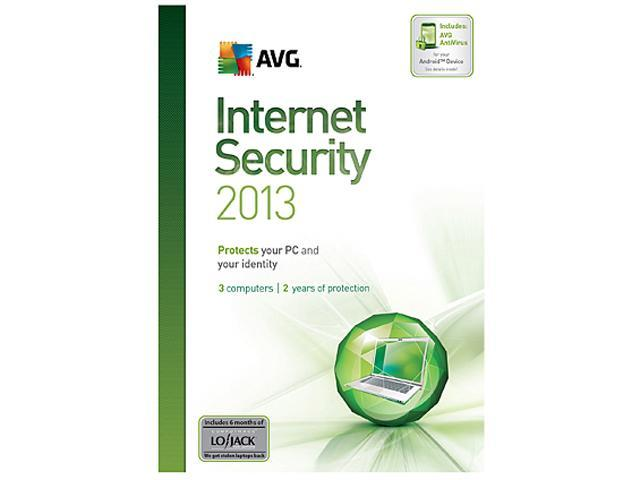 AVG Internet Security 2013 - 3 PCs (1 Year) - Download