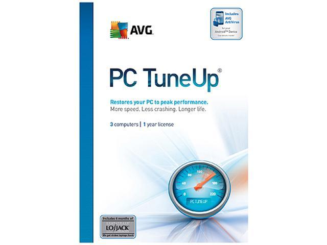 AVG PC TuneUp - 3 Users - Download