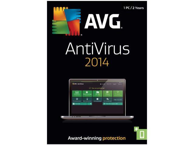 AVG AntiVirus 2014 1 PC (2-Year) - Download