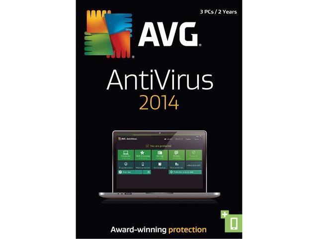AVG AntiVirus 2014 - 3 PCs (2-Year) - Download