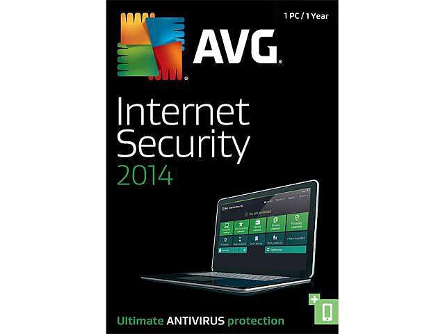 AVG Internet Security 2014 - 1 PC (1-Year) - Download