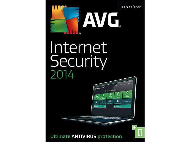 AVG Internet Security + PC TuneUp 2014 - 3 PCs (1-Year) - Download