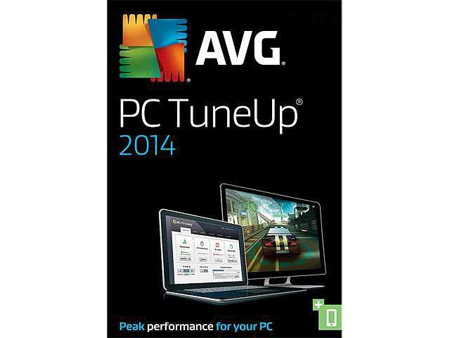 AVG PC TuneUp 2014 - 1 PC - Product Key Card