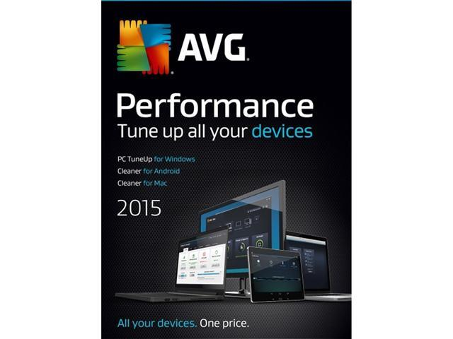 AVG Performance 2015 - Unlimited Devices / 1 Year