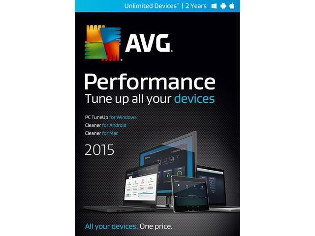 AVG Performance 2015 - Unlimited Devices / 2 Years