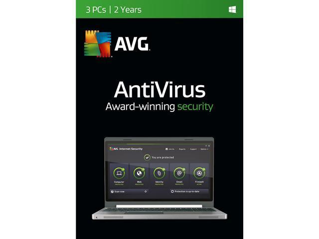AVG AntiVirus 2016 3 User 2 Year - Download - Newegg