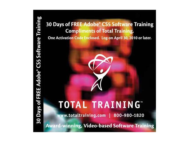 Online Adobe CS5 Training 30-Day Trial
