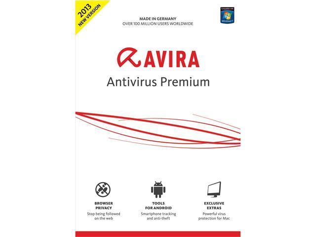Avira AntiVirus Premium 2013 - 1PC - Download